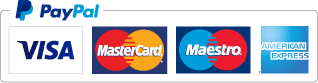 pay with credit and debit cards or via PayPal